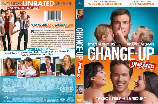 Rip DVD The Change Up movie with Magic DVD Ripper