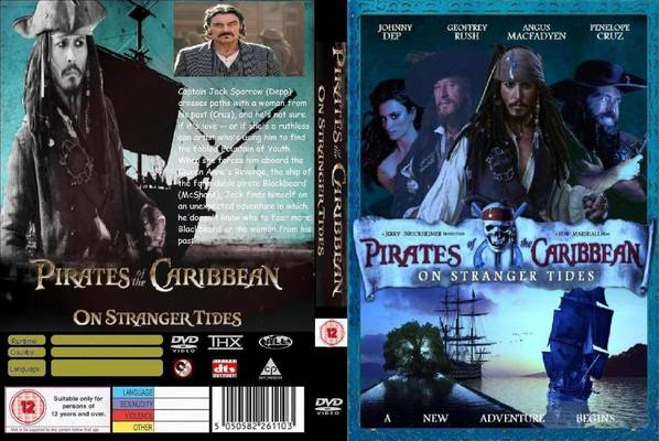 Rip Pirates of the Caribbean:On Stranger Tides DVD to other video format