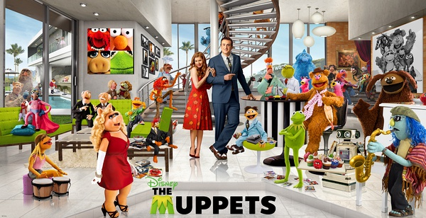 backup The Muppets DVD to feel the happy childhood with big laugh