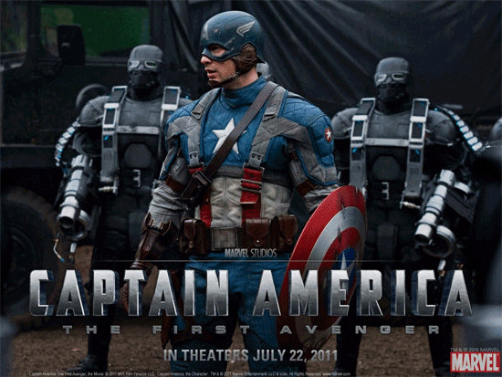 Rip Captain America - The First Avenger DVD