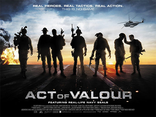 Rip or copy Act of Valour DVD to iPad - Moive poster