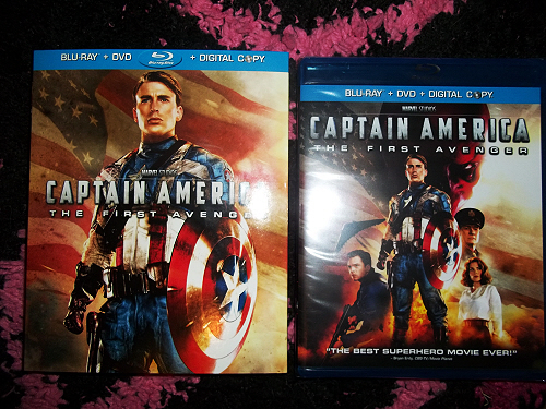 Copy Captain America - The First Avenger DVD to a blank DVD Disc