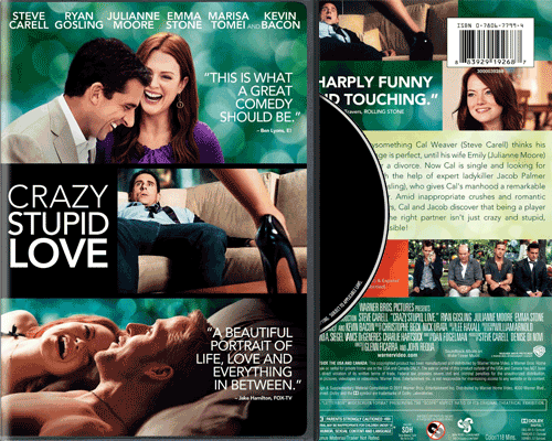 Copy Crazy, Stupid, Love DVD to a blank DVD Disc
