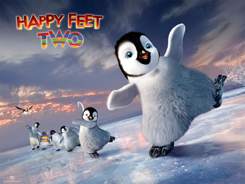 copy Happy Feet Two DVD and keep lovely penguins into collection
