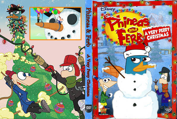 copy Phineas & Ferb: Very Perry Christmas DVD