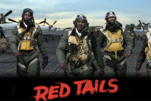 Red Tails dvd movie poster