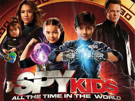 Copy Spy Kids: All the Time in the World DVD with Magic DVD Copier