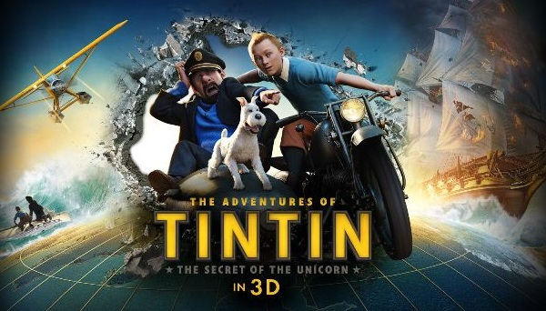 copy The Adventures of Tintin DVD for a nice visual trip