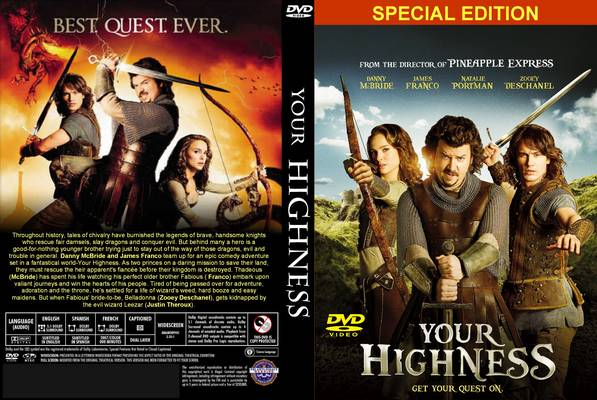 copy Your Highness DVD with Magic DVD Copier
