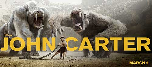 the most anticipated movies in March 2012 - John Carter .