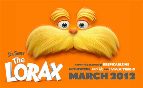 the most anticipated movies in March 2012 - The Lorax .