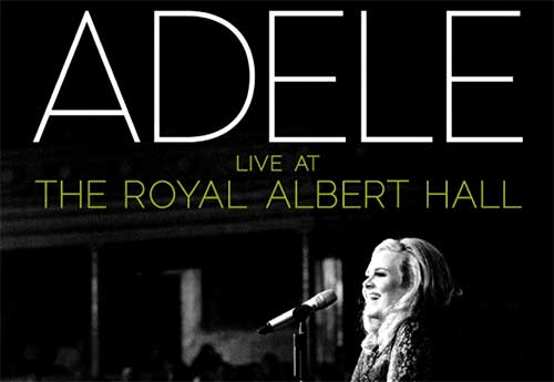 rip Adele Live at the Royal Albert Hall DVD with Magic DVD Ripper