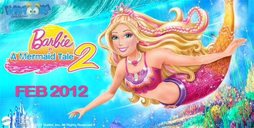 rip Barbie in A Mermaid Tale 2 DVD - Barbie in A Mermaid Tale 2 movie poster