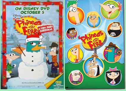 rip DVD Phineas & Ferb: Very Perry Christmas movie with Magic DVD Ripper
