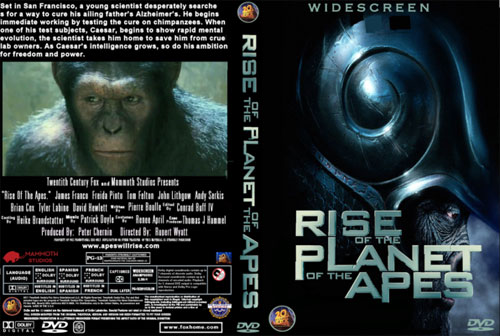 rip DVD Rise of the Planet of the Apes movie with Magic DVD Ripper