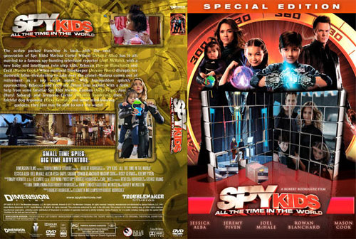rip DVD Spy Kids: All the Time in the World with Magic DVD Ripper