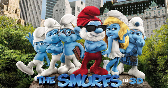 rip DVD The Smurfs movie by using Magic DVD Ripper - The Smurfs 2011 movie poster