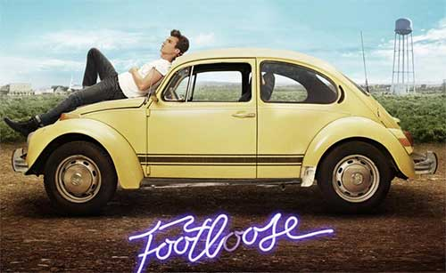 rip Footloose DVD - Footloose movie poster