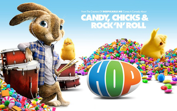 rip Hop DVD to see a colourful Easter Bunny world