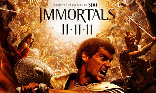 rip Immortals DVD -Immortals movie poster