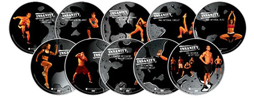 the Insanity DVDs cover