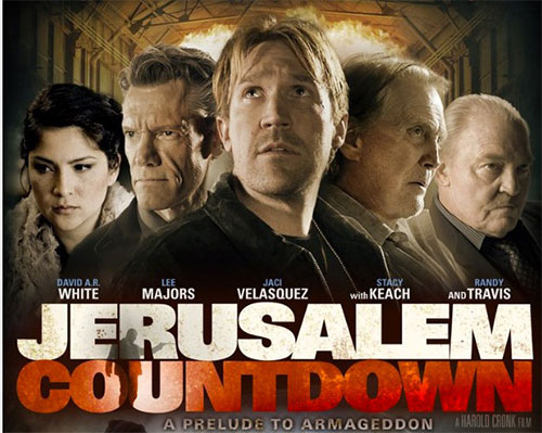 rip Jerusalem Countdown DVD movie - Jerusalem Countdown movie poster