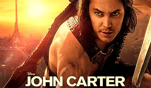 Rip or copy John Carter DVD - Moive poster