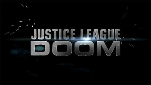 rip Justice League: Doom DVD - movie poster