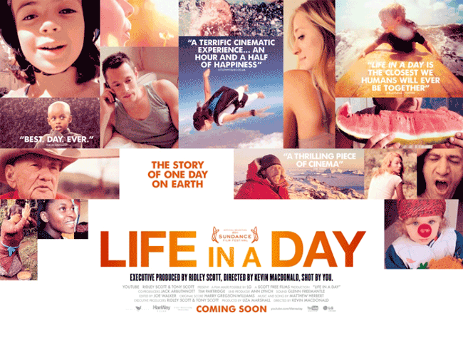 Rip Life in a Day DVD (2011) to other video format