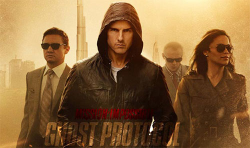 rip Mission: Impossible Ghost Protocol DVD - Mission: Impossible Ghost Protocol movie poster