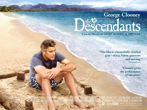 rip The Descendants DVD movie to get a copy - The Descendants movie poster