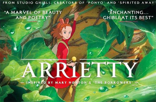 The Secret World of Arrietty - movie poster