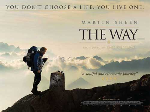 rip The Way DVD movie for making a copy - The Way movie poster