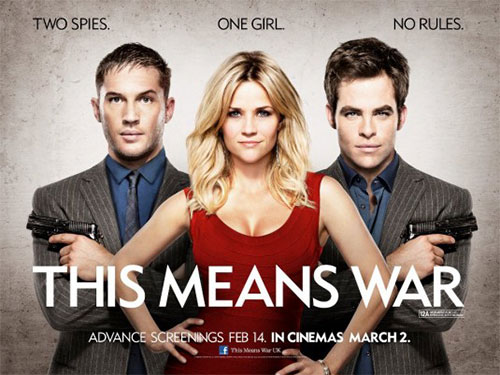 DVD This Means War movie poster