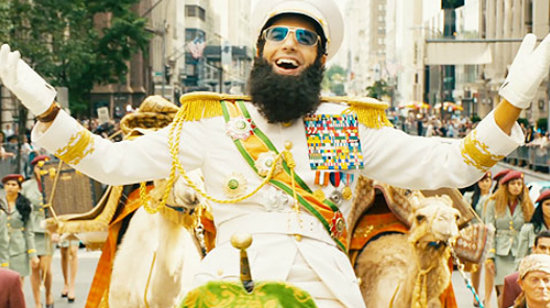 the most anticipated movies in May 2012 - The Dictator